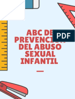 ABC de la Prevención Del Abuso Sexual Infantil