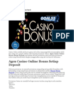 Casino Online Bonus Setiap Deposit