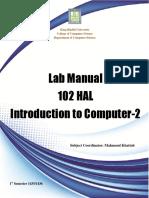 HAL 102_ Lab