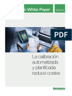 Beamex White Paper - Automated Calibration Lowers Costs ESP
