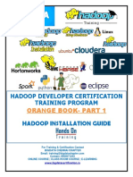Hadoop Installation Book