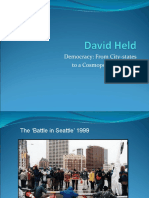 Docslide.com.Br Democracy From City States to a Cosmopolitan Order
