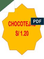 Choco Tejas