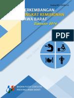 Perkembangan Tingkat Kemiskinan Jawa Barat September 2016