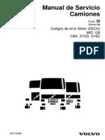 ESP15651 Códigos de Error MID 128 Versión 2005