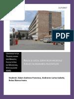 Rolul Si Locul Serviciilor Medicale Publice in Ingrijirea Pacientilor