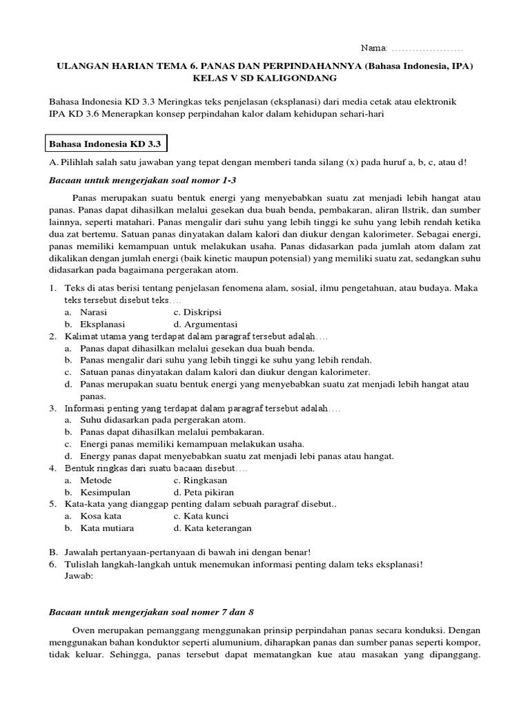 Contoh Teks Eksplanasi Dalam Media Elektronik - bonus