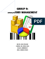 Inventory Management WORD