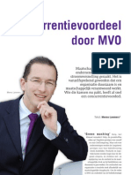 Artikel - Building Innovation - Concurrentievoordeel door MVO - 0908