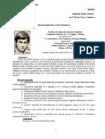 Regulament 2018 Nichita Stanescu Dreptul La Timp