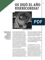 Qué nos dejó el año de la misericordia - 2016.pdf
