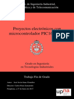 Proyectos electonicos con microcontrolador PIC16F877A