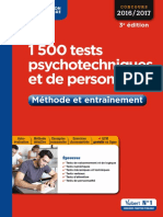 Tests Psychotechnique