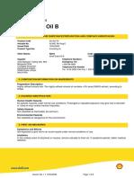 Shell Diala Oil B MSDS v01