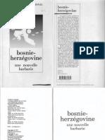 Amnesty International-Bosnie Herzegovine_une Nouvelle Barbarie