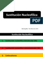 SN2-SN1-Carbocationes