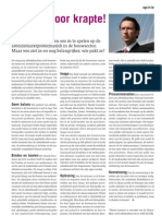 Artikel - Building Innovation - Kansen door Krapte - 0408