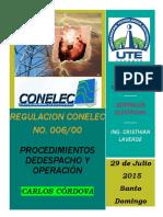 Regulacion Conelec