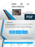 Anemia de La Prematuridad