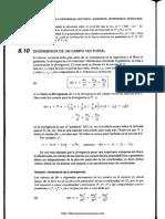 Divergencia y Rotacional de Un Campo Vectorial