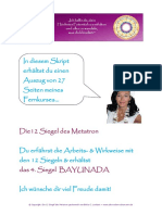 Das Siegel Bayunada Beschreibung