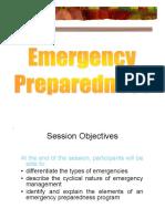 Emergency Preparedness (Zap)