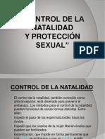 Control de La Natalidad y Proteccion Sexual