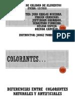 Color Antes