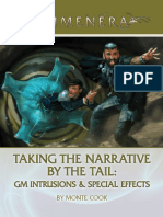 MCG056 - Taking the Narrative by the Tail - GM Intrusions & Special Effects