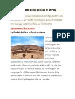 Aplicación de Las Cónicas en El Perú