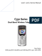 Motorola c350 Service Manual 1,2