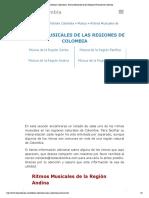 Ritmos Musica Colombiana_ Ritmos Musicales de las Regiones Naturales de Colombia.pdf