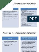 Klasifikasi PEB
