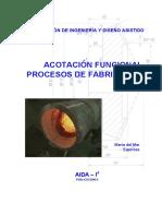 Tema 1. Acotación Funcional. Ingeniería Gráfica Mecánica