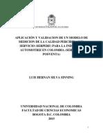 Tesis Maestria Final Luis h. Silva Sinning 2016