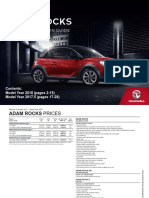 Adam Rocks-price Guide