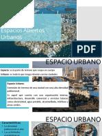 Espacios Abiertos Urbanos