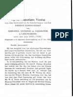 Friesch Genootschap 1922-23  Uilebord