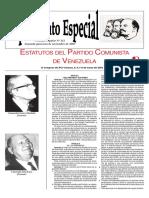Estatutos Del PCV