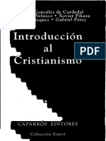 GONZALEZ de CARDEDAL, O. (Et Al), Introduccion Al Cristianismo, Esprit 9, Madrid 1994