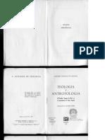 GONZÁLEZ DE CARDEDAL, O., Teología y Antropología. El hombre imagen de Dios en el pensamiento de Santo Tomás, 1967