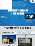 Tratamiento de Agua y Gas Natural en yacimientos
