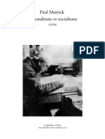 Paul Mattick - Nationalisme et socialisme (1959)
