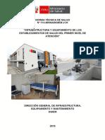 INFRAESTRUCTURAS Y EQUIPAMINETOS DE LOS CENTROS DE SALUD.pdf