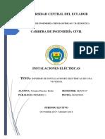 Informe Electricas Martes 6