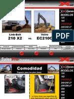 210X2 vs Volvo EC210C