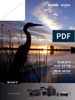 Sony Z7 Brochure