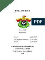 Filosofis Etika Dan Bisnis (Kelompok 2)