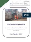 1. Plan de Gestión Ambiental 2016 Dh. Sin Canbio