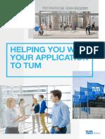 TUM Asia Assistance Centre Brochure 2016